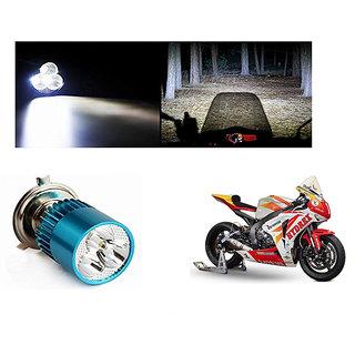Speedwave Bike H4 3LED Bright Light Bulb White-  For Honda CBR1000RR Fireblade