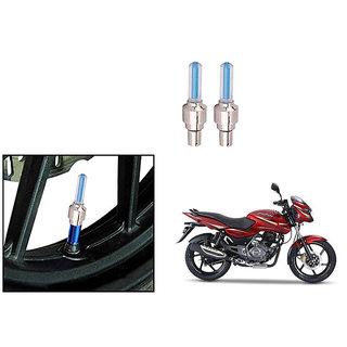Speedwave Bike Motion Sensor Tyre LED Blue Set of 2   For Bajaj Pulsar 150