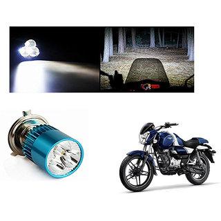 Speedwave Bike H4 3LED Bright Light Bulb White-  For Bajaj V15