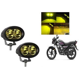 Speedwave Bike 20W 3000K Led Driving Light Cree LED Aux Light Set of 2 yellow for  Honda Dream Neo