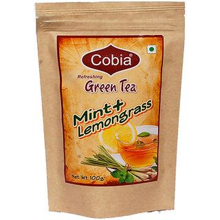 COBIA GREEN TEA(MINT + LEMONGRASS) 100 G LEAVES