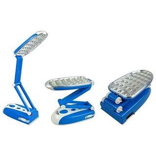 Rock Light 31 LED EMERGENCY TABLE LIGHT TABLE LAMP FLEXIBLE DESK LAMP