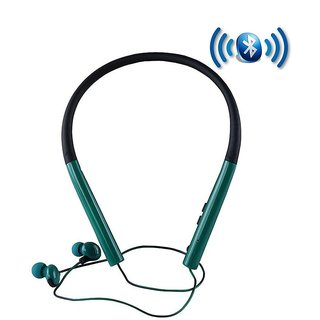Captcha Super Slim MS-770 Bluetooth Neckband Sports Stereo Headphone With Mic Compatible with all Smartphones