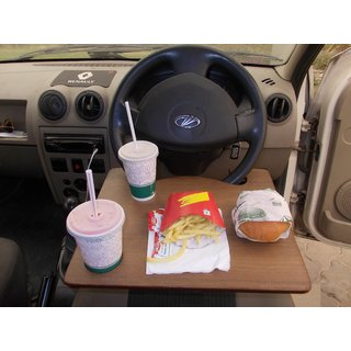 CAR STEERING DESK MULTI-USABLE FOR LAPTOP, FOOD, BOOKS