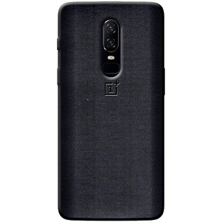 Cellmate Fashion Case And Cover For OnePlus 6 - Black