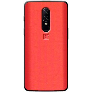 Cellmate Fashion Case And Cover For OnePlus 6 - Red