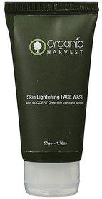 Organic Harvests Skin Lightening Face Wash 100g