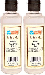 Khadi Mart Herbal Rose Water Toner - 210ml (Set of 2)