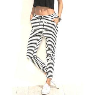 Raabta Fashion Stripe drosting trouser pant