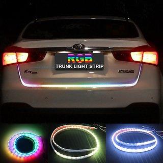 Buy Multi Color Flow Led Strip Trunk Light Dicky Light Boot Led