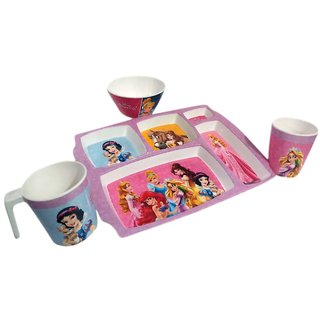 servewell melamine set for kids 4 piece set