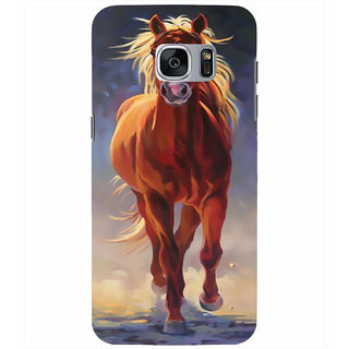 Printgasm Samsung Galaxy S7 Edge printed back hard cover/case,  Matte finish, premium 3D printed, designer case