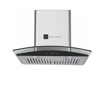 Health Pure B-Slim Auto Clean Chimney + Vegipure (Absolutely Free Worth Rs 4500) + (Size 60 cm 1100m3/h Suction Touch