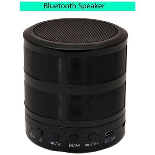 Deals e Unique Bluetooth speaker Multimedia Powerful Sound W87 Metal Body Bluetooth Speaker Memory Slot (Multi-Color)