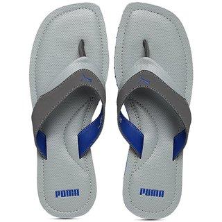 Puma Mens Grey Flip Flops