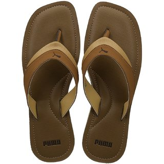 Puma Mens Brown Flip Flops