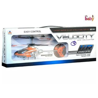 OH BABY Velocity Easy Control I/R Remote Infrared Controlled 2.5 Channel Helicopter SE-ET-96