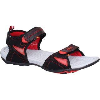 Sparx Women SS-472 Black Red Sandals