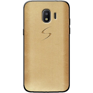 Cellmate Fashion Case And Cover For Samsung Galaxy J2 2018 - Golden