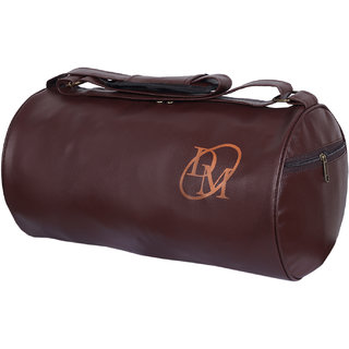 Dee Mannequin Brown Duffel Gym Bag