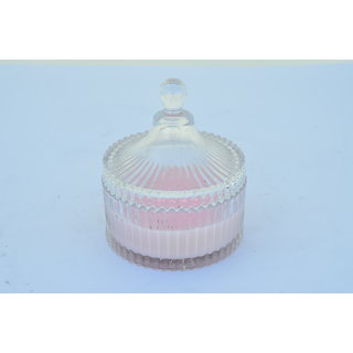 Sattva Crystal Jar Fragrance Candles - Rose