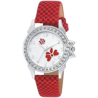 KAJARU LADIES 13 RED Colors Beautiful Analog Watch - For Women
