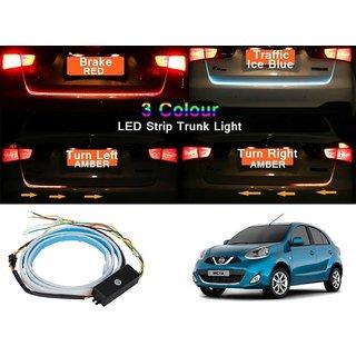 Flow LED Strip Trunk Light / Dicky Light / Boot LED DRL Strip Light For  Nissan Micra