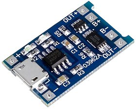 5V 1A TP 4056 18650 Lithium Battery Charging Board Charger Module For DIY Projects