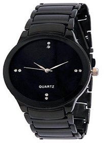 Jay shree khodiyar jks126  Analog Black Dial and Black Stainless Steel Chain Strap Casual Watch  Formal Watch  Luxury