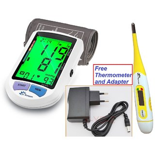 Dr. Morepen BP 16 Colored Display Bp Monitor (White)