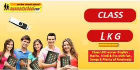 Class LKG-CBSE/NCERT .UG Pen Drive Course- Engilsh,Math