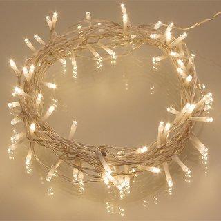 Finest Quality Transparent White 30 Feet Rice Ladi/String Light For Diwali,Xmas,Eid,Gurupurab,Birthday Party Decoration