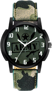 HRV New Trendy Army Style Watch For Boys And  Mens 00189 6 month warranty