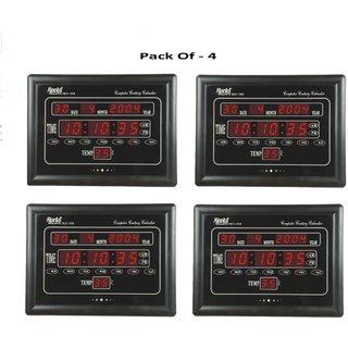 AJANTA OLC 103 Digital Clock Pack Of - 4