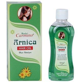 Carmino Arnica Hair Oil 100 ml each Pack of 3 100ML X3 , 300 ML