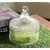 Sattva Crystal Jar Fragrance Candles - Green Apple