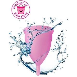 The Elite Store presents-The Reusable Menstrual Cup SMALL ideal for Women Aged Less than 25 Years