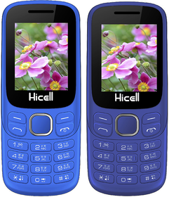 HICELL C9 COMBO OF TWO MOBILE NAVY BLUE, DARK BLUE DUAL