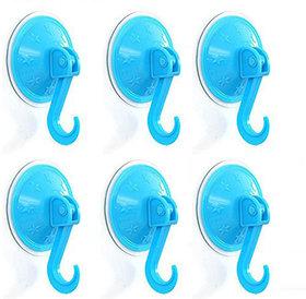 6 Pieces Vacuum Suction Hanging Hooks