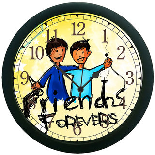 meSleep Friend Forever Wall Clock (With Glass)