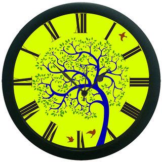 meSleep Tree Wall Clock (With Glass)