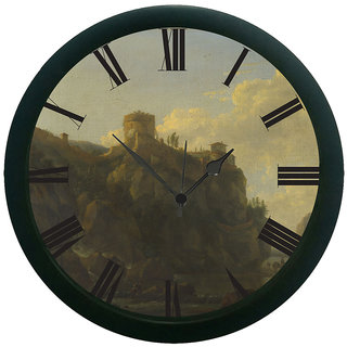meSleep Vintage 3D Wall Clock (With Glass)