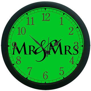 meSleep Mr & Mrs Wall Clock (With Glass)