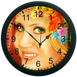 meSleep Lady Face Wall Clock (With Glass)