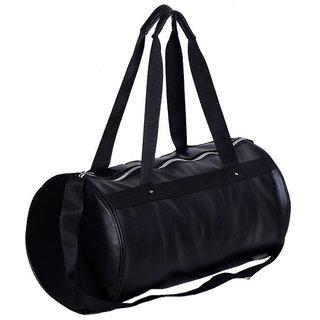 Buy Black Leather Rite Gym Bag (Black 4831bbc044df0
