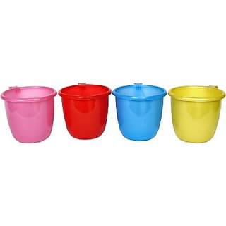SGD Plastic Bath Mug (Multicolor 1.5)