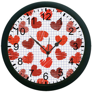 AE World Heart Wall Clock (With Glass)