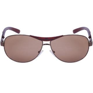 e5c4c7860d Buy Amour Propre Brown UV Protection Aviator Unisex Sunglasses ...