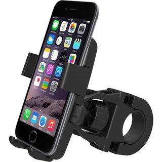 Dirar Bike Mobile Holder  (Black)