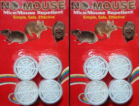 Rat Repellent Balls - Set of 8 in a pack